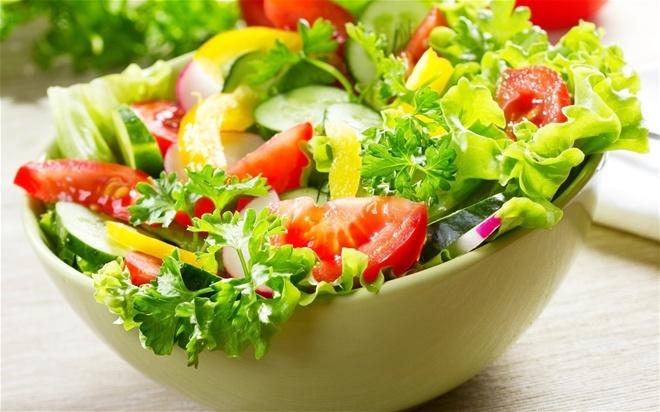 Kết quả hình ảnh cho Ăn nhiều rau xanh bổ sung chất xơ