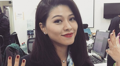 BTV Ngoc Trinh: 'Noi toi co nguoi chong lung cung dung' hinh anh
