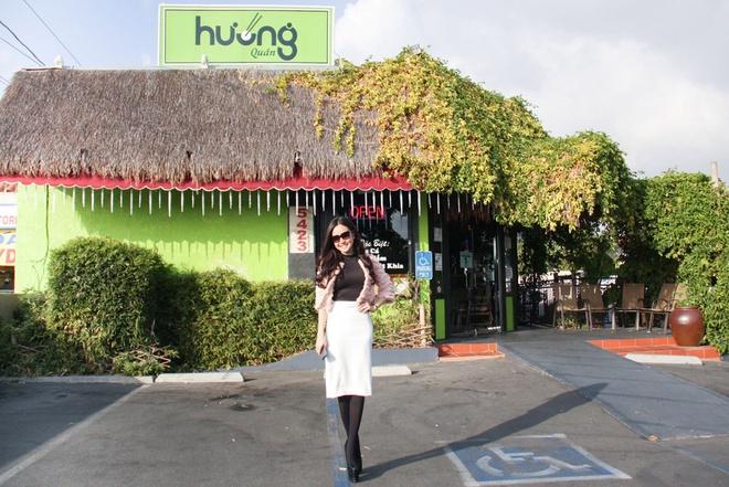 Vy Oanh tham nha sang trong cua Viet Huong tai My hinh anh 14