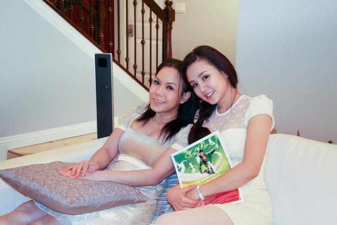 Vy Oanh tham nha sang trong cua Viet Huong tai My hinh anh 5