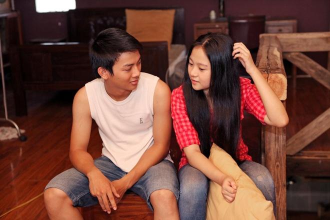 Con trai nuoi Hoai Linh lam nguoi yeu Tam Trieu Dang hinh anh 6