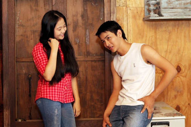 Con trai nuoi Hoai Linh lam nguoi yeu Tam Trieu Dang hinh anh 7
