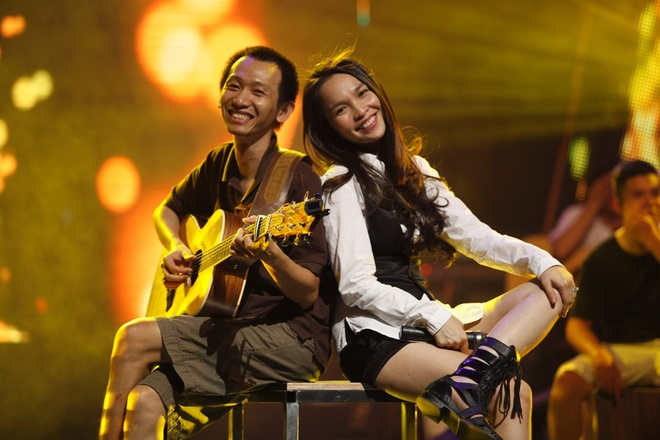 Hien Thuc, My Tam tinh nghich trong buoi tong duyet liveshow hinh anh 10