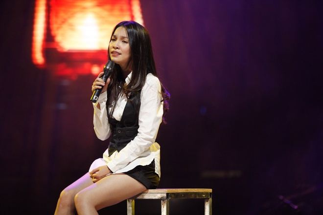 Hien Thuc, My Tam tinh nghich trong buoi tong duyet liveshow hinh anh 2