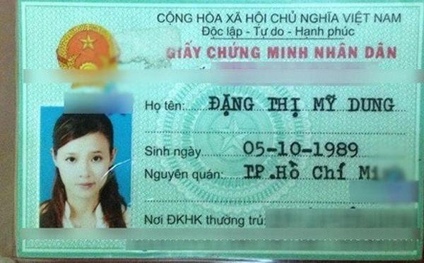 Xem anh, ten tuoi that cua sao Viet tren CMND va ho chieu hinh anh 16