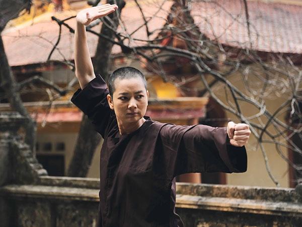 Thuy Vinh got toc di tu trong phim cua Mr. Dam hinh anh