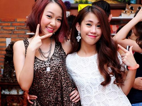 Dan hot girl den mung Ngoc Thao len chuc ba chu hinh anh
