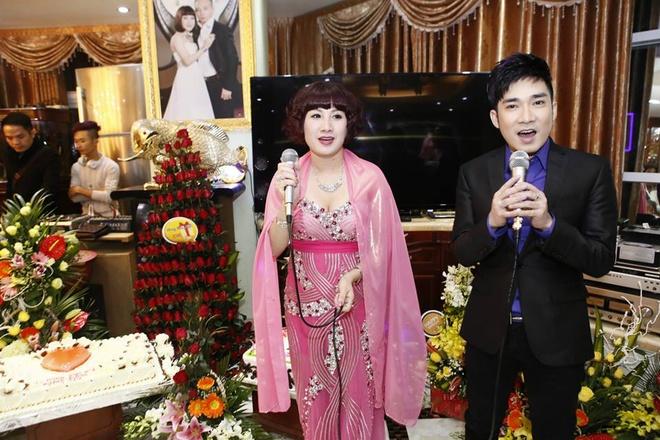 Quang Ha hat sinh nhat dai gia Thai Binh cat-xe 450 trieu hinh anh 3