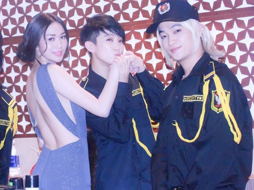 HKT de lai kieu toc to qua trong phim voi tai tu TVB hinh anh