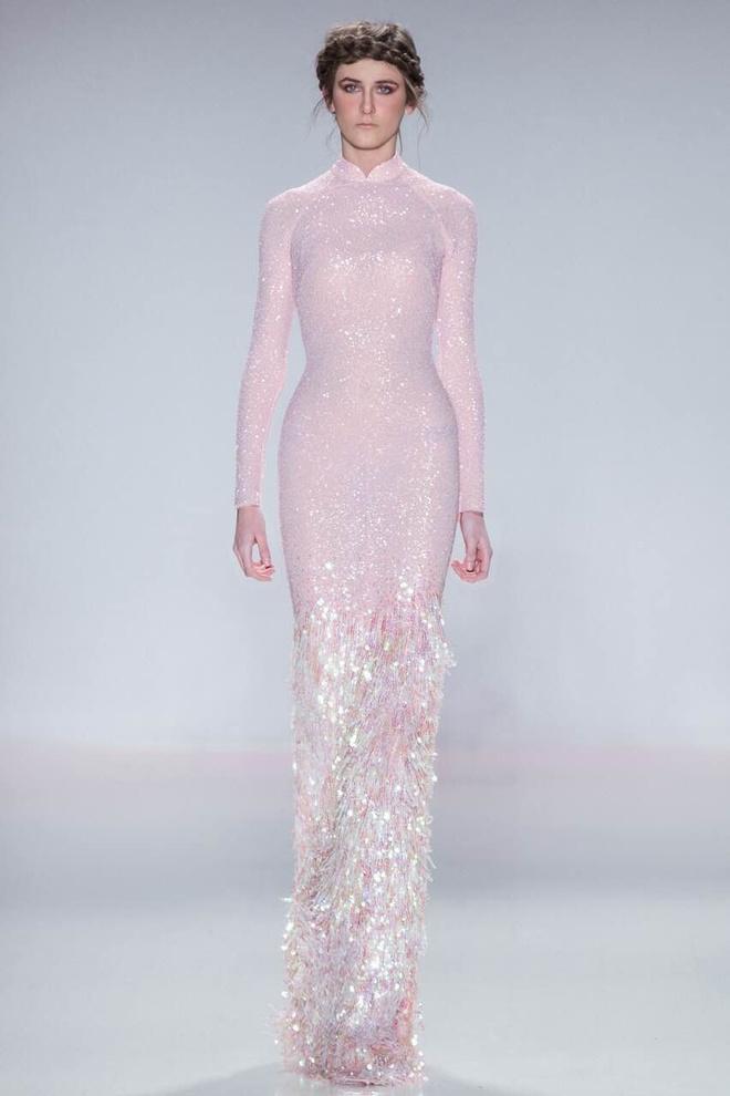 Ly Qui Khanh hon Tuyet Lan o san dien New York Fashion Week hinh anh 8