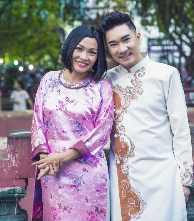 Quang Ha, Phuong Thanh dien ao dai le chua dau nam hinh anh 9