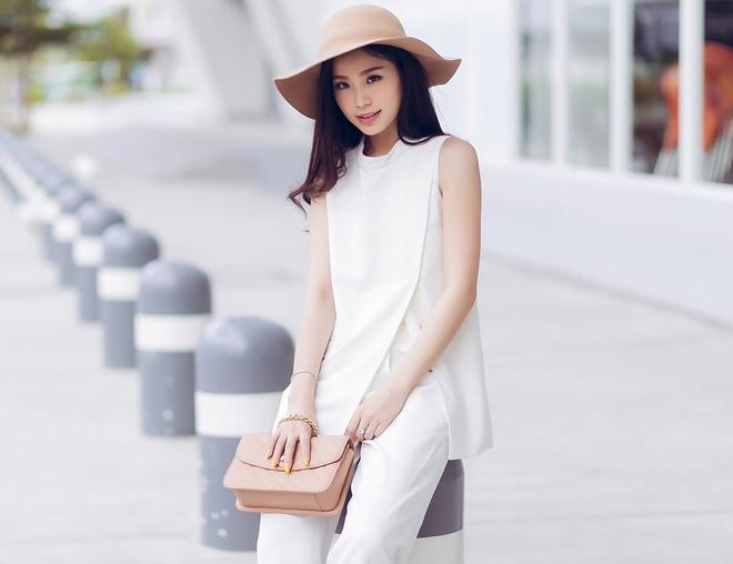 A hau Diem Trang goi cam voi 6 trang phuc duong pho hinh anh 7
