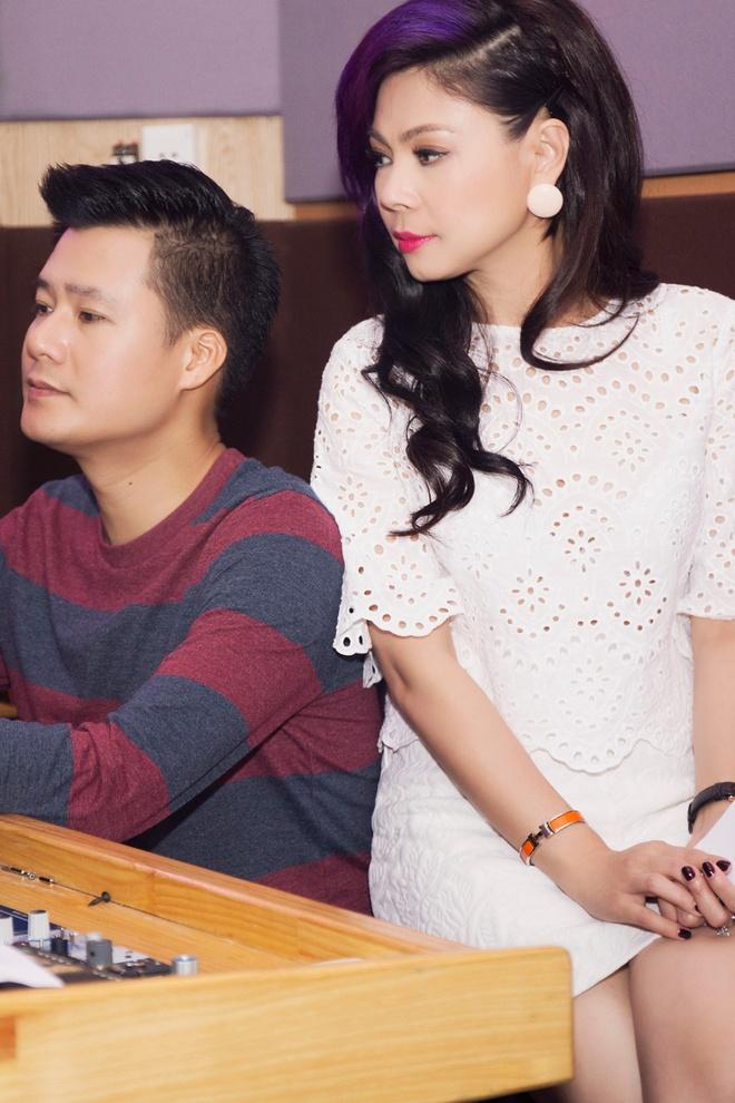 Thanh Thao dien mot vay ngu di tong duyet cung Quang Dung hinh anh 7