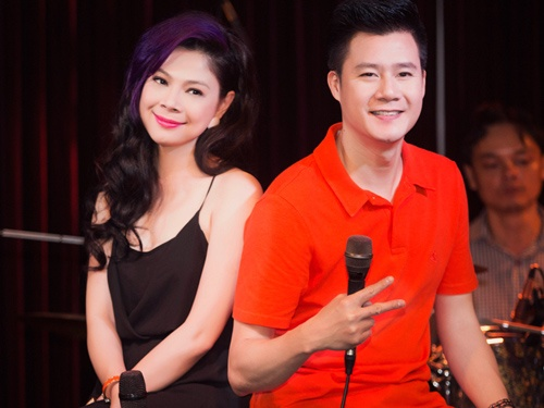 Thanh Thao dien mot vay ngu di tong duyet cung Quang Dung hinh anh