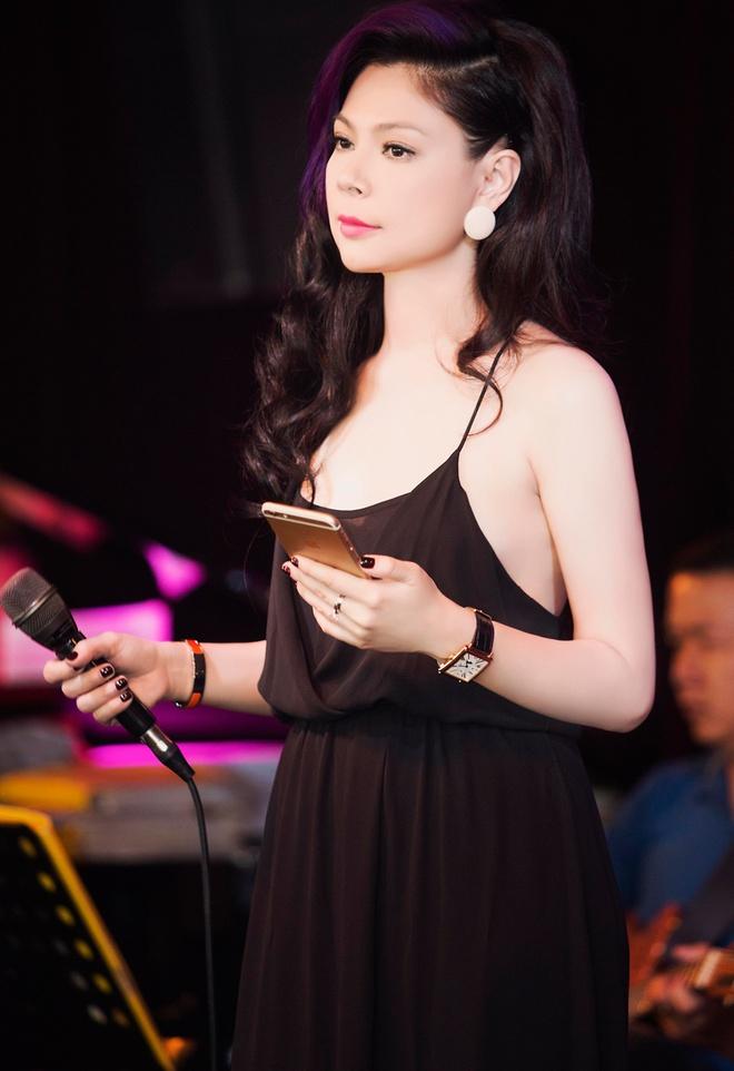 Thanh Thao dien mot vay ngu di tong duyet cung Quang Dung hinh anh 1