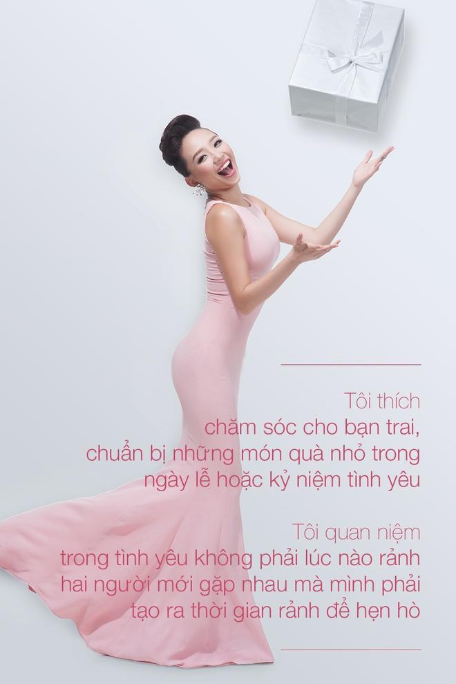 Toc Tien: 'Khi yeu, toi cuong nhiet va doi khi mu quang' hinh anh 3 Nữ ca sĩ sinh năm 1989 dễ bị cảm xúc chi phối khi yêu.