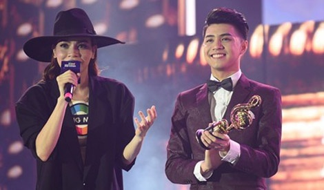 Video Le trao giai Zing Music Awards hinh anh