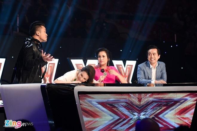 Minh Nhu len tieng ve man 'dai chien' cua cac HLV X Factor hinh anh 1
