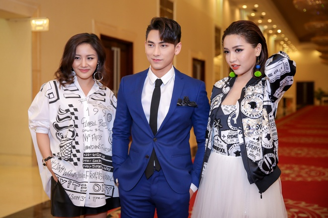 Thi sinh Vietnam Idol Kids gap bo ba quyen luc Isaac, Van Mai Huong, Bich Phuong hinh anh