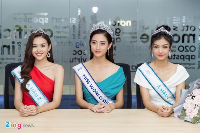 Hoa hau The gioi Viet Nam 2019 anh 7