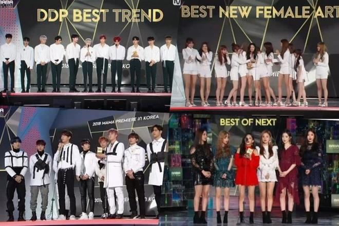 Mnet len tieng sau tranh cai giai thuong khong cong bang o MAMA 2018 hinh anh 2