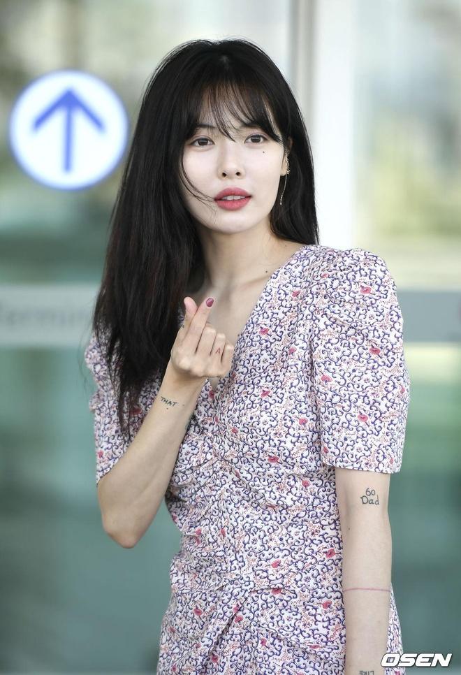 'Nu hoang goi cam' HyunA mac kin ra san bay hinh anh 5