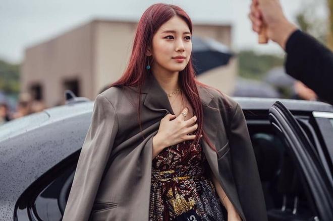 Suzy,  Rose tai Paris Fashion Week 2019 anh 3