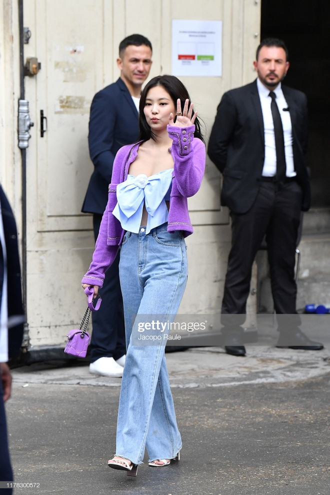 Jennie tai Paris Fashion Week anh 10