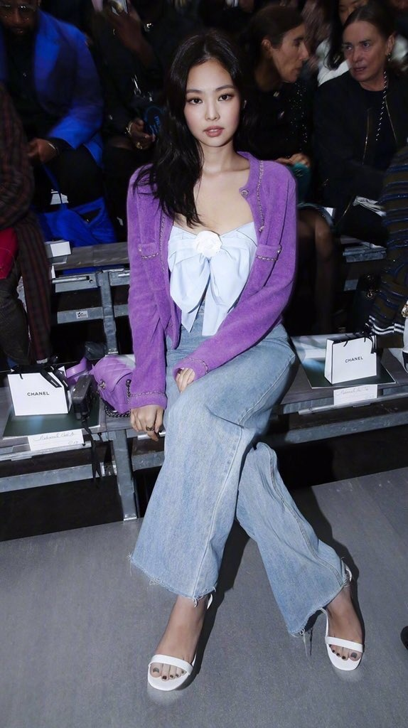 Jennie tai Paris Fashion Week anh 4