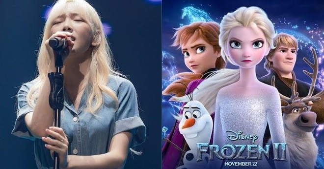 Tae Yeon khoe giong hat trong sieu pham hoat hinh 'Frozen 2' hinh anh
