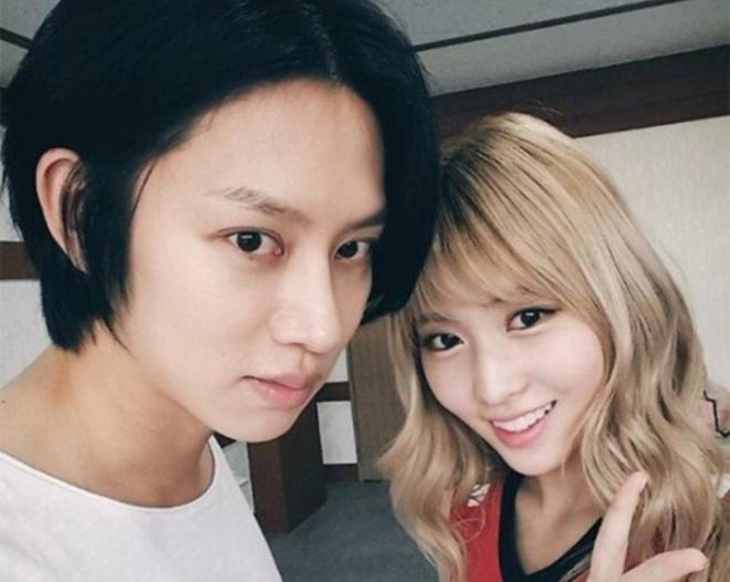 Momo (TWICE) boi roi khi bi MC treu choc ve chuyen hen ho voi Hee Chul hinh anh 2 twice_momo_kim_heechul_kpop_couple_fantasy_2.jpg