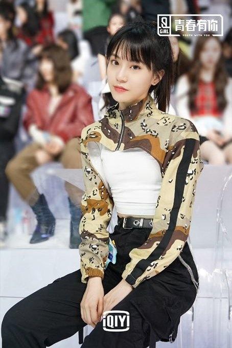 Hai nu thuc tap sinh cua YG o show song con Trung Quoc hinh anh 3 ETjw1e_UUAAMgiu.jpg