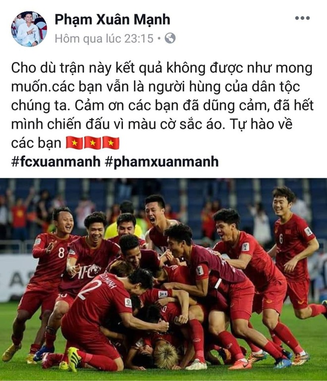 Tinh than tuyen Viet Nam sau tran tu ket Asian Cup anh 7