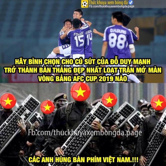 Dan mang buc xuc khi Duy Manh ve nhi binh chon ban thang AFC Cup 2019 hinh anh 6