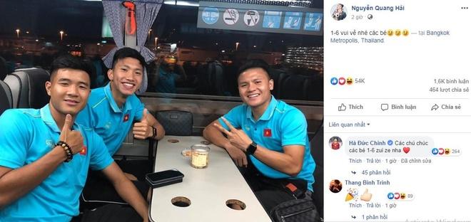Quang Hai vui ve check-in, Duc Chinh 'cam thay dep trai' o Thai Lan hinh anh 2