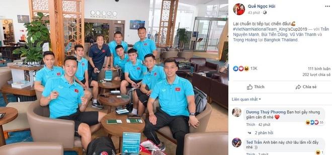 Quang Hai vui ve check-in, Duc Chinh 'cam thay dep trai' o Thai Lan hinh anh 3