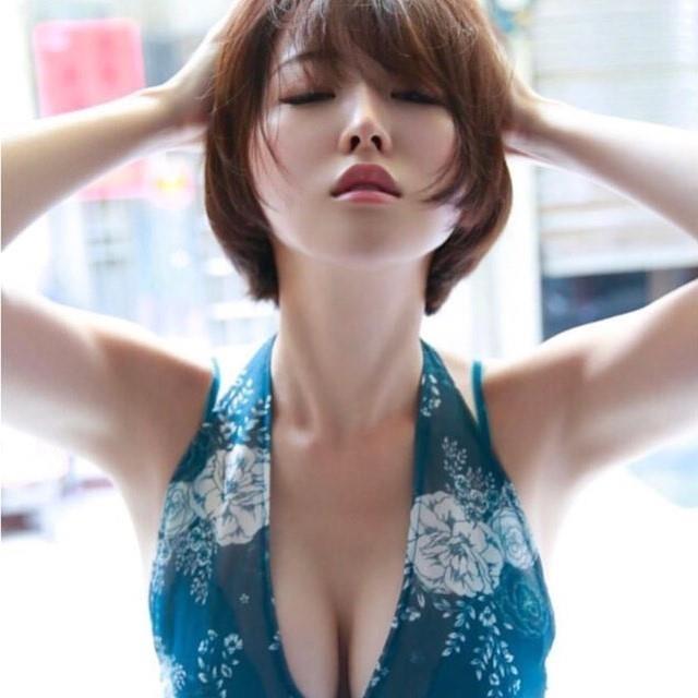 Hot girl nguc khung Nhat Ban anh 10