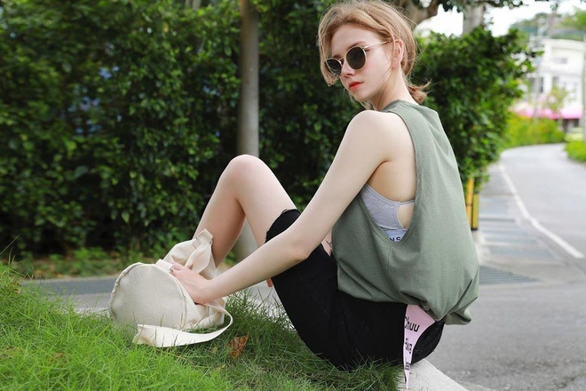 Hot girl Ukraine lam nguoi mau Han Quoc anh 13