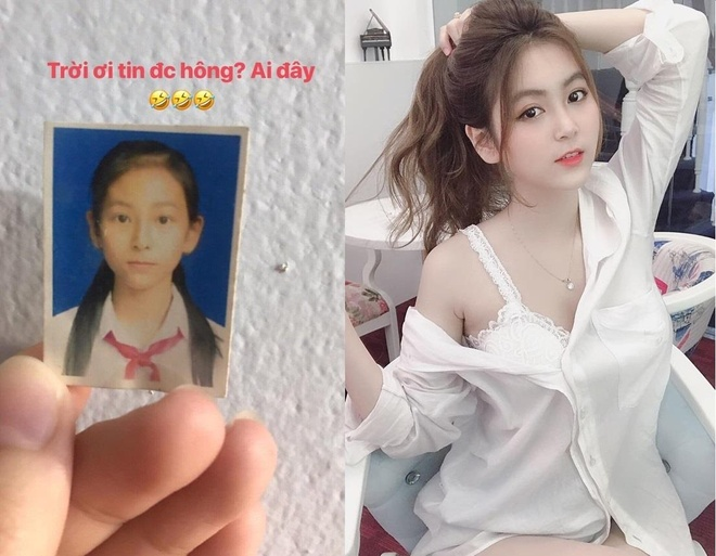 Anh thoi ngo tau cua hot girl Nam Tran anh 1