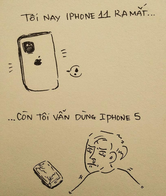 Dan mang che anh 'iPhone 11 ra mat, toi van dung iPhone 5' hinh anh 3