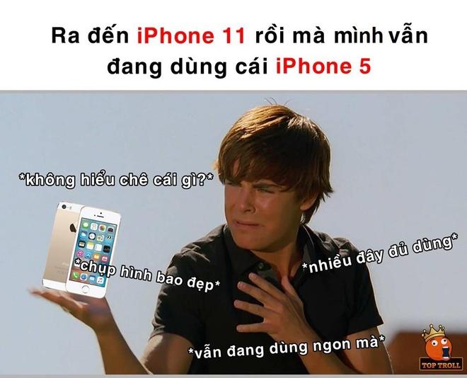 Dan mang che anh 'iPhone 11 ra mat, toi van dung iPhone 5' hinh anh 4
