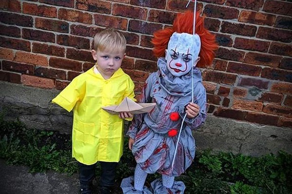 Dac san hoa trang mua Halloween: Joker dang yeu, Annabelle cool ngau hinh anh 3