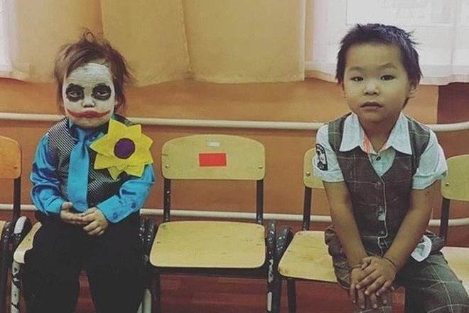 Dac san hoa trang mua Halloween: Joker dang yeu, Annabelle cool ngau hinh anh 1