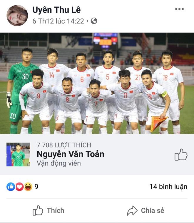 Van Toan thuong danh loi yeu thuong cho ban gai tren mang xa hoi hinh anh 7