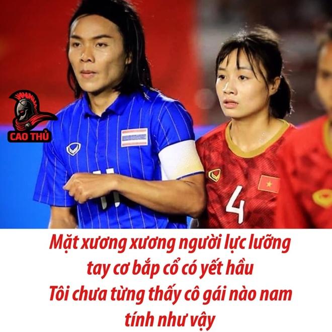 Dan mang to mo ve nu cau thu Thai Lan co ngoai hinh nam tinh hinh anh 1