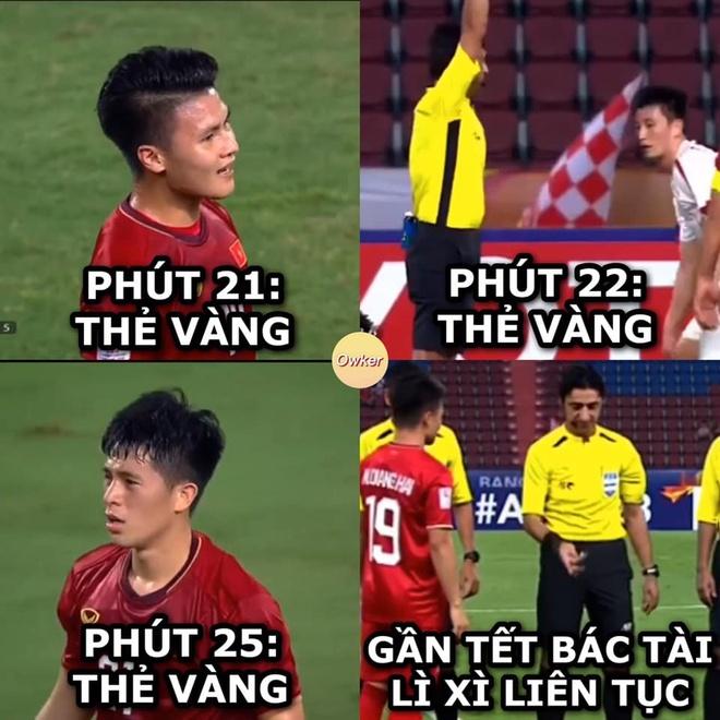 Dan mang buc xuc trong tai phat the vang U23 Viet n.am nhu 'phat li xi' hinh anh 5 anh_che_VN_Trieu_Tien.jpg