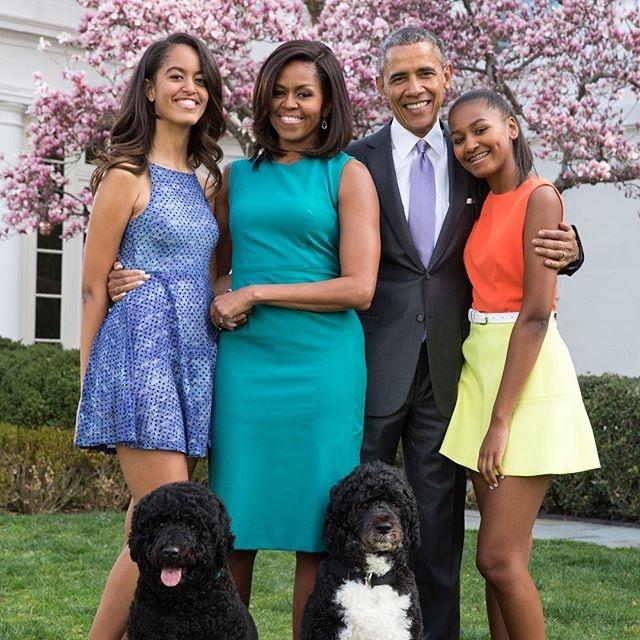 con gai Obama anh 5