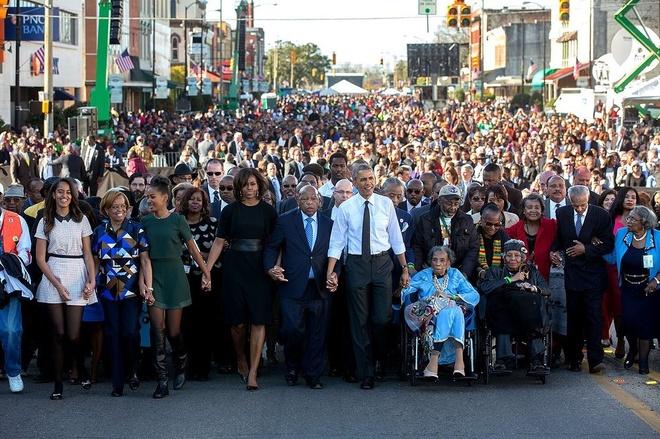 con gai Obama anh 4