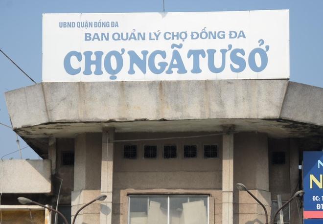 Cho tam Nga Tu So bi thao do sau gan 10 nam ton tai hinh anh