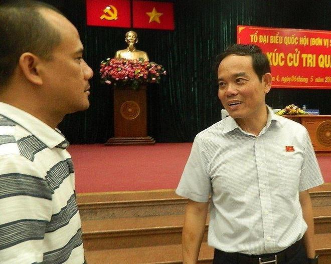 Ong Tran Luu Quang: Anh Doan Ngoc Hai khong muon lam thi nen cho nghi hinh anh 1